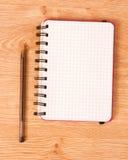 Notatnik i pióro. Obraz Stock