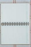 notatnik spirala Zdjęcie Stock