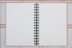 notatnik spirala Obraz Royalty Free