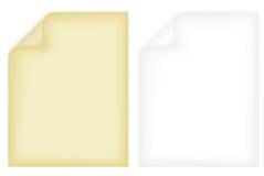 notatnik strony Fotografia Stock
