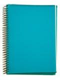 notatnik zielona spirala Zdjęcie Royalty Free
