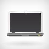 Notatnika laptopu wektoru ikona Zdjęcia Stock