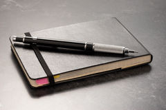notatnika ołówek Obraz Stock
