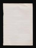 Notatnika papier obraz stock