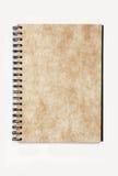 notatnika papieru wzoru spirala Zdjęcia Stock