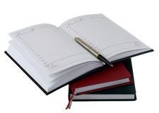 notatnika pióro Obraz Stock