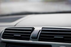 Notbeleuchtungsindikatorknopf in einem Auto Lizenzfreie Stockfotografie