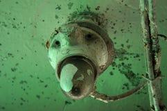 Notbeleuchtungslampe des alten Schiffs Lizenzfreie Stockfotografie