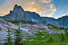 Notchtop Mountain stock images