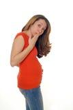 Notícia do bebê Foto de Stock