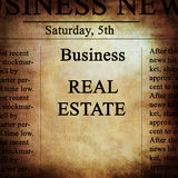 Notícias de negócios Imagem de Stock