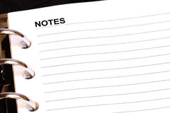 Note Fotografie Stock