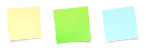 Note appiccicose Immagini Stock
