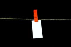 Note blanc Image libre de droits