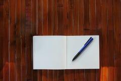 Note blanc Photographie stock libre de droits