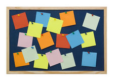 Note board Stock Photo