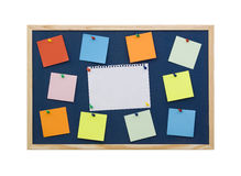 Note board Royalty Free Stock Image