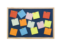 Note board Royalty Free Stock Photos