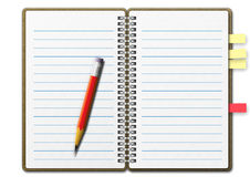 Note Book 01 Royalty Free Stock Photo