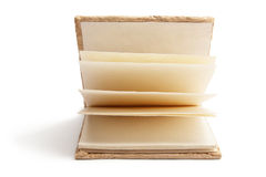Note Book. On White Background Stock Images