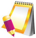 Note book vector illustration