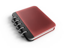 Note book. 3d rendered icon Royalty Free Stock Photos
