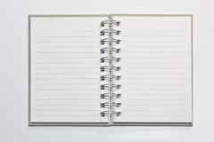 Note book. Use of write down stories always or important events Royalty Free Stock Photography