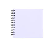 Note book isolated Stock Photos
