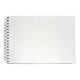 Note book isolated on white background. Stock Photos