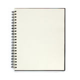 Note book isolated on white background. Royalty Free Stock Photography