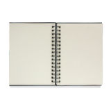 Note book isolated on white background. Stock Image
