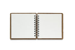 Note book isolated on white background. Royalty Free Stock Photo