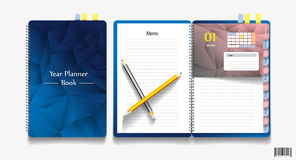 Free Note Book, Note Papers And Pencil Stock Image - 73716091