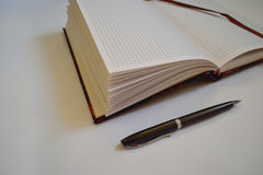 Note-book royalty free stock photography