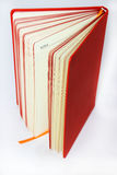 Note Book orange Stock Images
