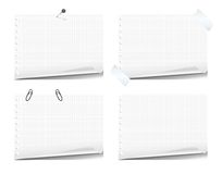 Note book pages Royalty Free Stock Photo