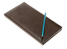 Note book pencil Royalty Free Stock Image