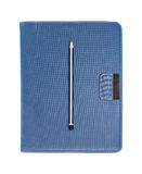 Note book with pencil  Stock Image