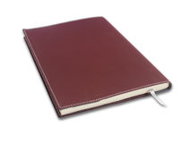 Note book on white Royalty Free Stock Photos
