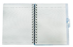 Note Book on white blackground. The Note Book on white blackground Royalty Free Stock Photos