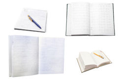 Note-books Royalty Free Stock Images