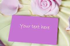 Note card Stock Photography