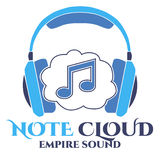 Note Cloud logo. Empire Sound. Royalty Free Stock Photo
