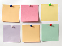 Note color Royalty Free Stock Photo