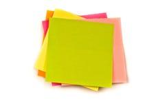 Note de couleur Photo stock