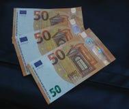 note de l'euro 50, Union européenne Photos libres de droits