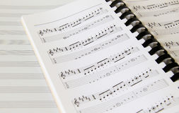 Note de musique Image libre de droits