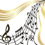 Note de musique. Photos libres de droits