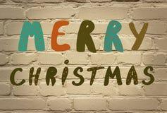 Note de Noël photo libre de droits