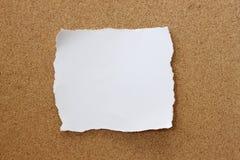 Note de papier Photographie stock libre de droits